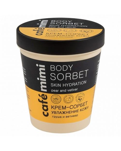 CAFE MIMI Krem – sorbet Nawilżenie skóry, 220 ml