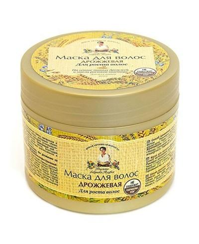 Recepty Babuszki Agafii Maska do włosów drożdżowa Aktywacja wzrostu, 300ml