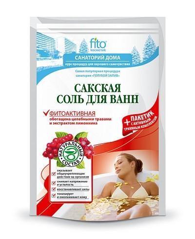 """Fitokosmetik sól do kąpieli z jeziora sakśkiego """"fitoaktywne"""" 500 g+30"""