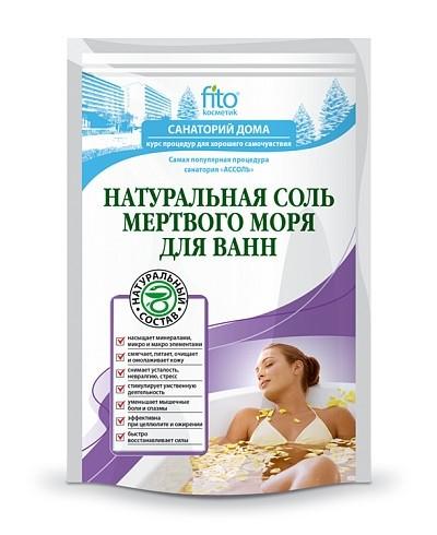 "Fitokosmetik sól do kąpieli z morza martwego ""naturalna"" 500 g"