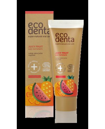 ECODENTA COSMOS Owocowa pasta do zębów dla dzieci, 75 ml