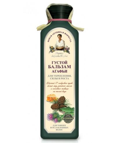 Recepty Babuszki Agafii Balsam do włosów Ziołowy gęsty, 350ml