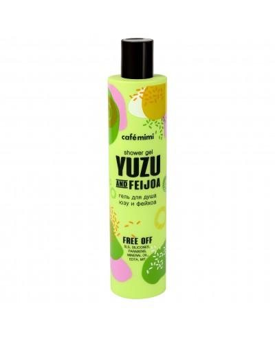 CAFE MIMI Żel pod prysznic – Yuzu i feijoa, 300 ml