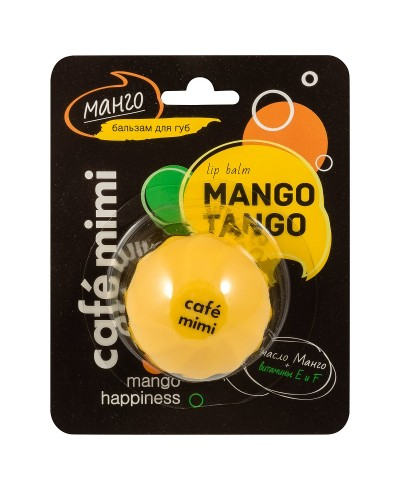 CAFĖ MIMI Balsam do ust Mango, 8 ml