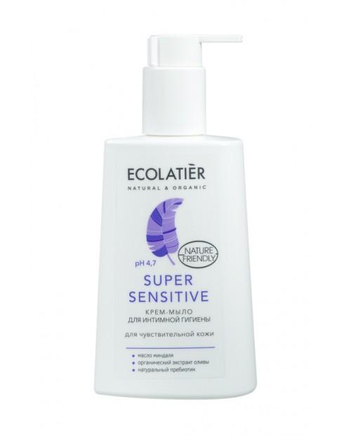Ecolatier Intimate Krem-mydło do higieny intymnej do skóry wrażliwej, 250 ml