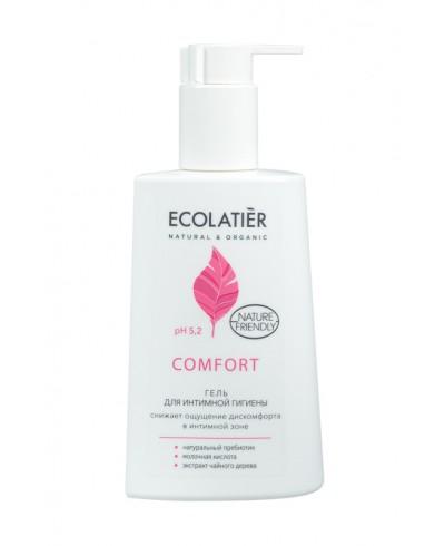 Ecolatier Intimate Żel do higieny intymnej z kwasem mlekowym i probiotykiem, 250 ml