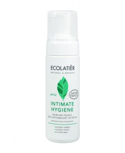 Ecolatier Intimate Pianka do higieny intymnej z ekstraktami szałwii i bawełny, 150 ml