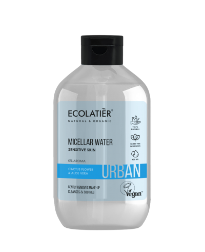 Ecolatier Urban Woda micelarna Kwiat kaktusa i aloes, 400 ml