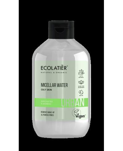 Ecolatier Urban Woda micelarna Herbata Matcha i bambus, 400 ml