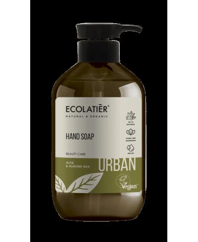 Ecolatier Urban Mydło do rąk Aloes i mleko migdałowe, 400 ml