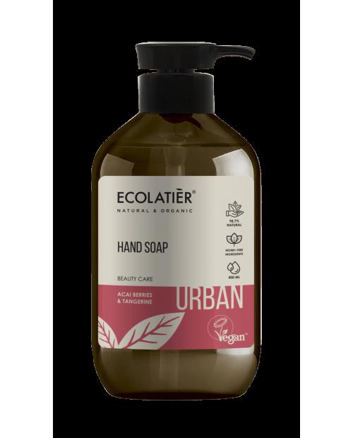 Ecolatier Urban Mydło do rąk Jagody Acai i mandarynka, 400 ml