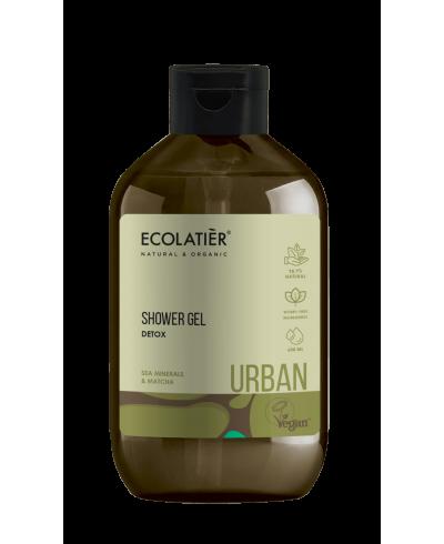 Ecolatier Urban Detoks żel pod prysznic Minerały Morskie i matcha, 600 ml