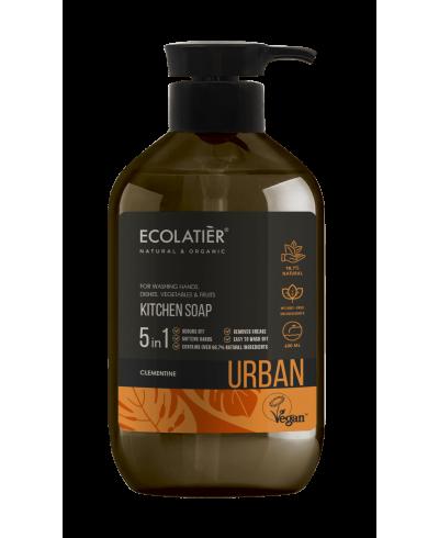 Ecolatier Urban Mydło w płynie Klementynka, 600 ml