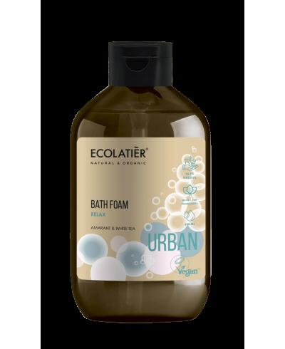 Ecolatier Urban Pianka do kąpieli Relaks Amarant i biała herbata, 600 ml