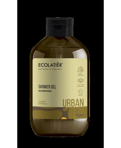 Ecolatier Urban Odżywczy żel pod prysznic Jojoba i papaja, 600 ml