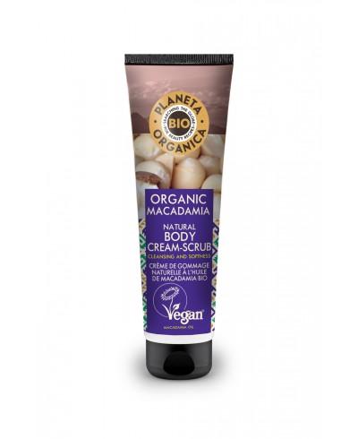 PLANETA ORGANICA Organic Macadamia Krem-scrub do ciała, 140ml