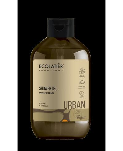 Ecolatier Urban Nawilżający żel pod prysznic Argana i wanilia, 600 ml