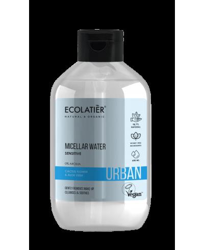 Ecolatier Urban Woda micelarna Kwiat kaktusa i aloes, 600 ml