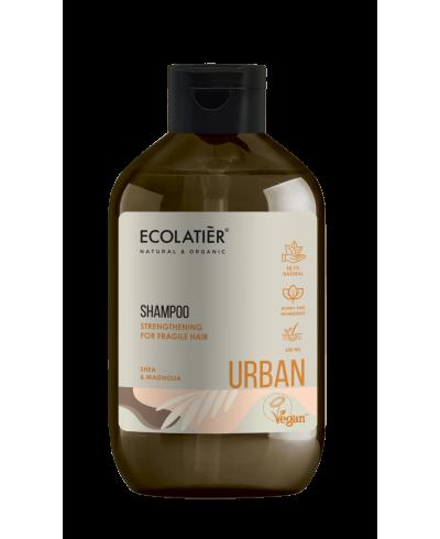 Ecolatier Urban Szampon do włosów osłabionych Wzmacniający Shea i magnolia, 600 ml