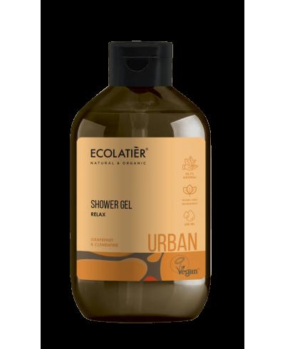 Ecolatier Urban Relaksujący żel pod prysznic Grejpfrut i klementyna, 600 ml