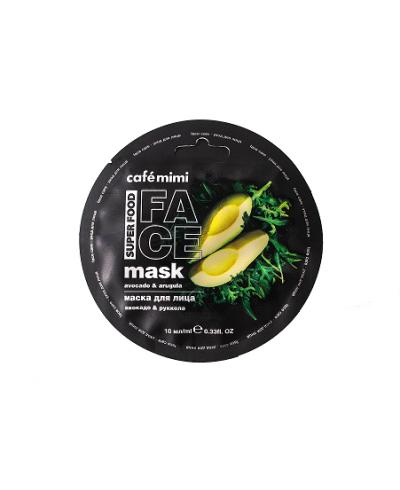 CAFE MIMI maseczka do twarzy Brokuły & Tapioka, 10 ml