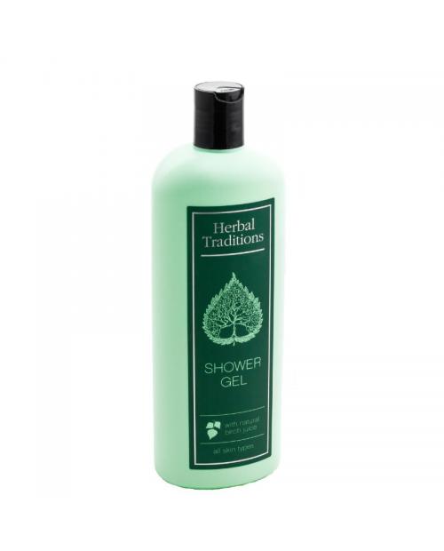 HERBAL TRADITIONS Żel pod prysznic z sokiem brzozowym, 400 ml