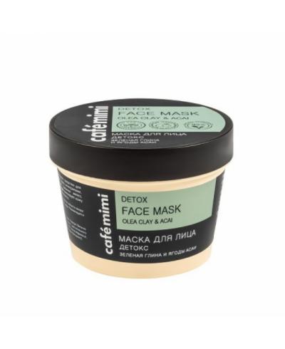 """CAFE MIMI Maska do twarzy """"Detoks"""", 110 ml"""