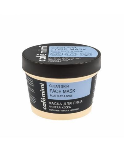 """CAFE MIMI Maska do twarzy """"Oczyszczona cera"""", 110 ml"""