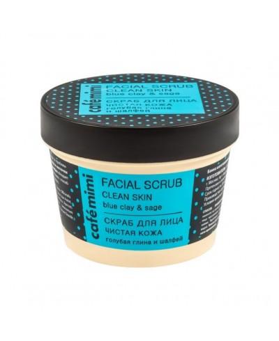 """CAFE MIMI Peeling do twarzy """"Oczyszczona cera"""", 110 ml"""