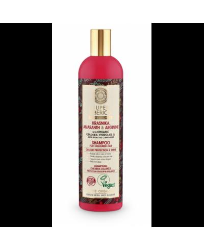 SUPER SIBERICA PROFESSIONAL Szampon do włosów farbowanych Ochrona koloru, 400 ml