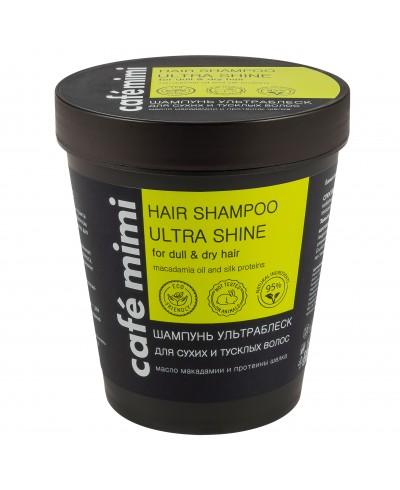 CAFE MIMI Szampon do włosów suchych i matowych Ultrablask, 220 ml