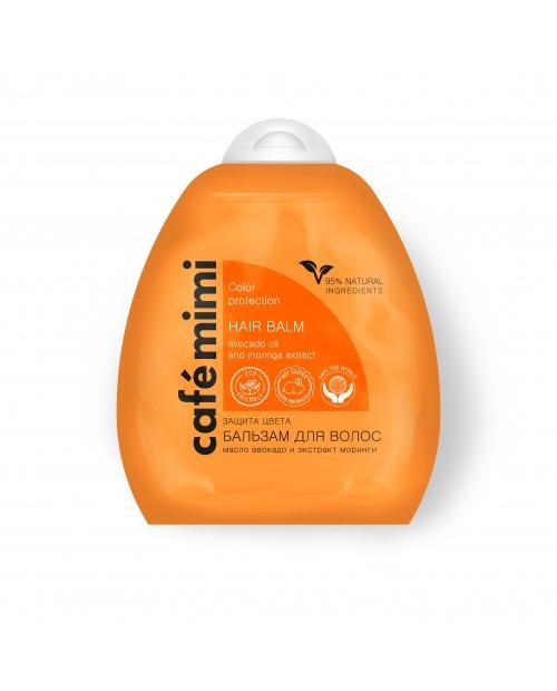 CAFE MIMI Balsam do włosów Ochrona koloru i blask, 250ml