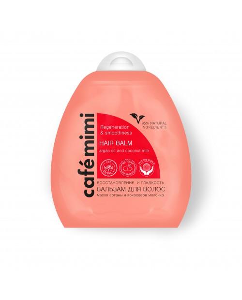 CAFE MIMI Balsam do włosów Regeneracja i gładkość, 250ml