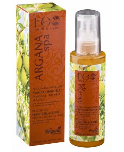 EOlab Argana SPA Regenerujący Olejek – fluid do włosów , 100 ml