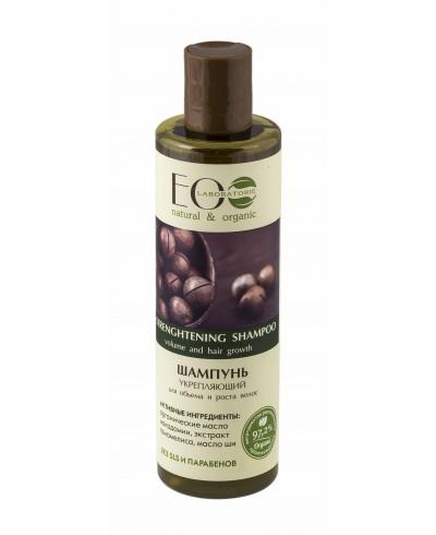 EOLab Wzmacniający szampon do włosów Objętość i Wzrost, 250ml