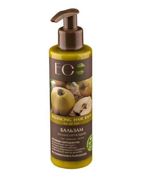 EOLab Zrównoważony balsam do włosów przetłuszczających się, 200ml