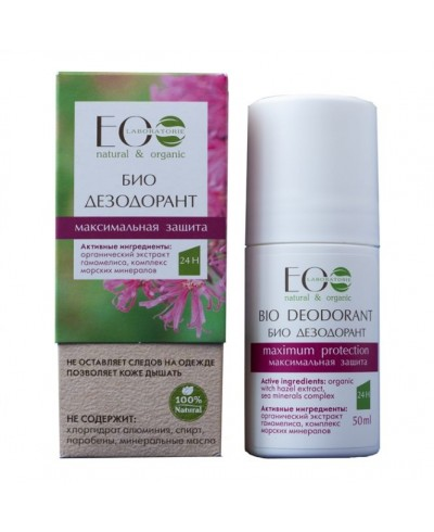 EOLab Dezodorant Maksymalna ochrona, 50ml
