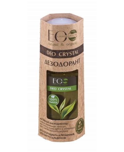 EOLab Deo Crystal Dezodorant z wyciągiem z kory dębu i zielonej herbaty, 50ml