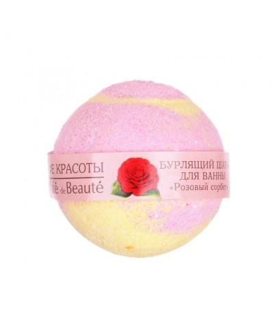 Le Cafe de Beaute Musująca kula do kąpieli Różany sorbet, 120g
