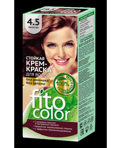 Trwała krem farba do włosów Fitocolor 4.5 odcień Mahoń