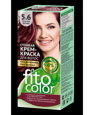 Trwała krem farba do włosów Fitocolor 5.6 odcień Drzewo czerwone