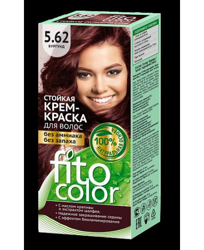 Trwała krem farba do włosów Fitocolor 5.62 odcień Burgund