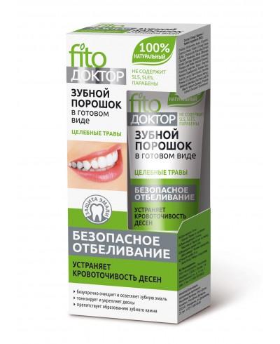 Proszek do zębów w gotowej formie Rośliny lecznicze Fito Doktor
