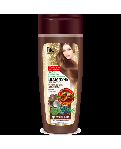 """FK szampon """"dziegciowy"""" wzmocniający/przeciwłupieżowy 270ml"""