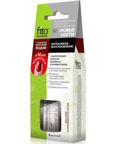 """Fitokosmetik środek do wzmocnienia paznok. """"zdrowe paznokcie"""", intensywna regeneracja, 8ml"""