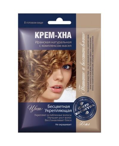 FK kremowa henna bezbarwna.wzmacniająca z kompl.olejów 50ml