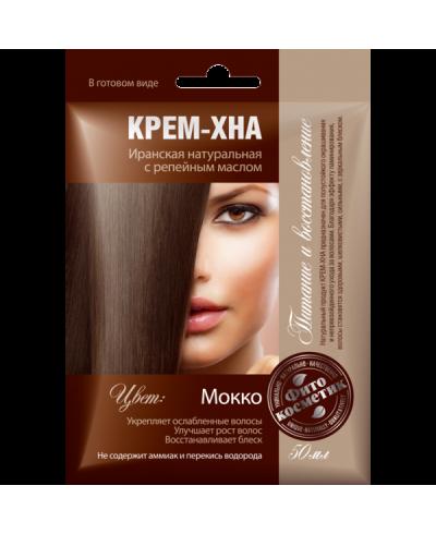 """FK kremowa henna """"mokkо"""" z ol.łopianu 50ml"""