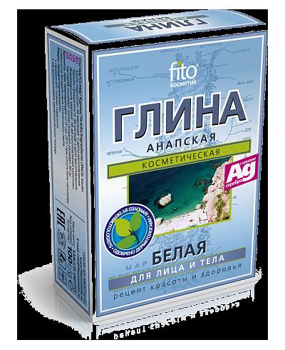 Fitokosmetik - biała glinka anapska 100 g