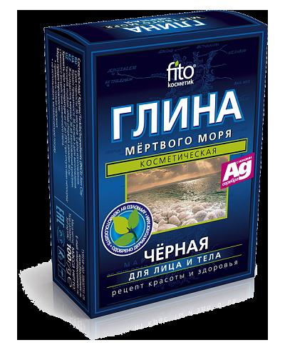 Fitokosmetik - czarna glinka morza martwego 100 g