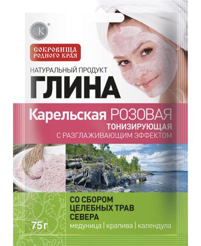 Fitokosmetik - różowa glinka karelska - tonizująca 75 g
